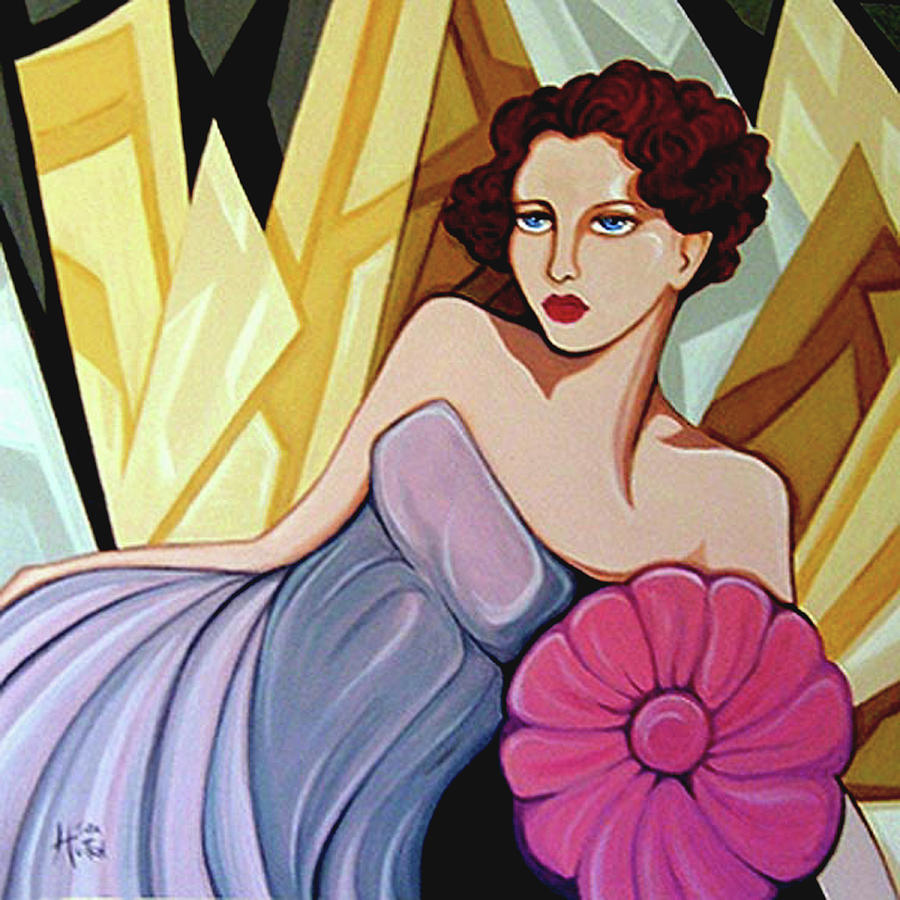 Art Deco Painting - Starlet 1935 by Tara Hutton
