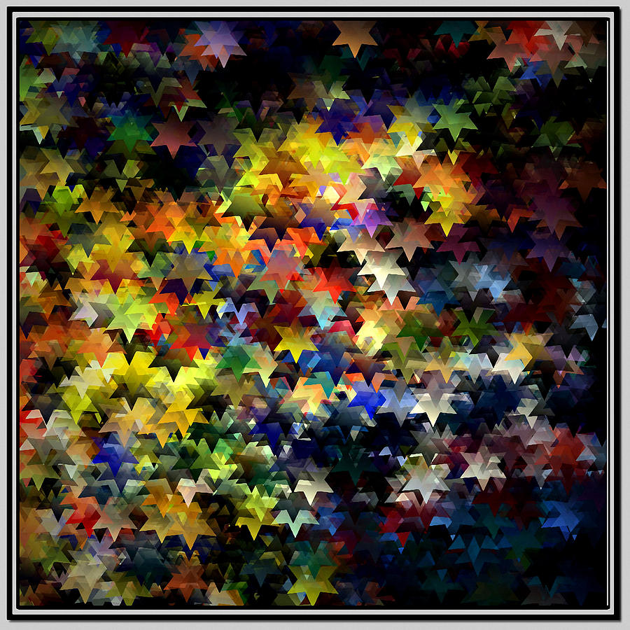 Starlight Digital Art by Susan  Epps Oliver