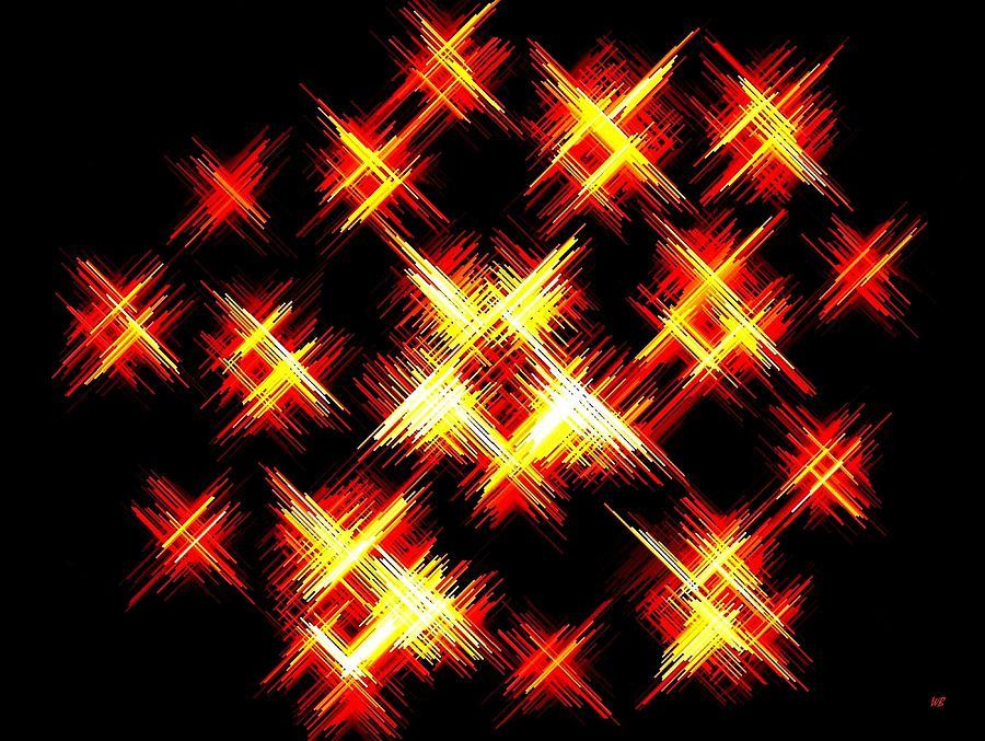 Abstract Digital Art - Starlight by Will Borden