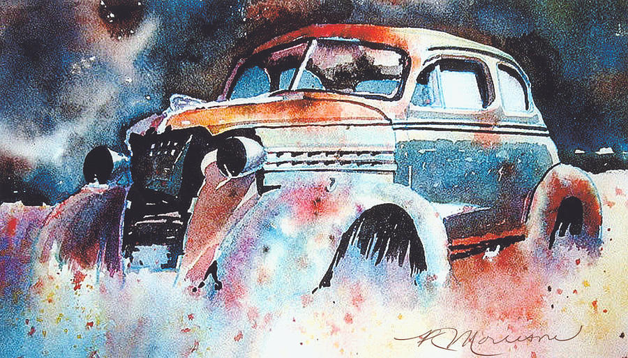 Chev Painting - StarlightChevy by Ron Morrison