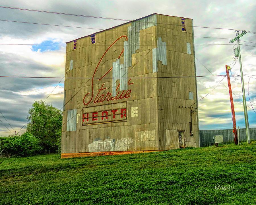 Starlite Drive In Theatre, Brenham TX by Rebecca Korpita