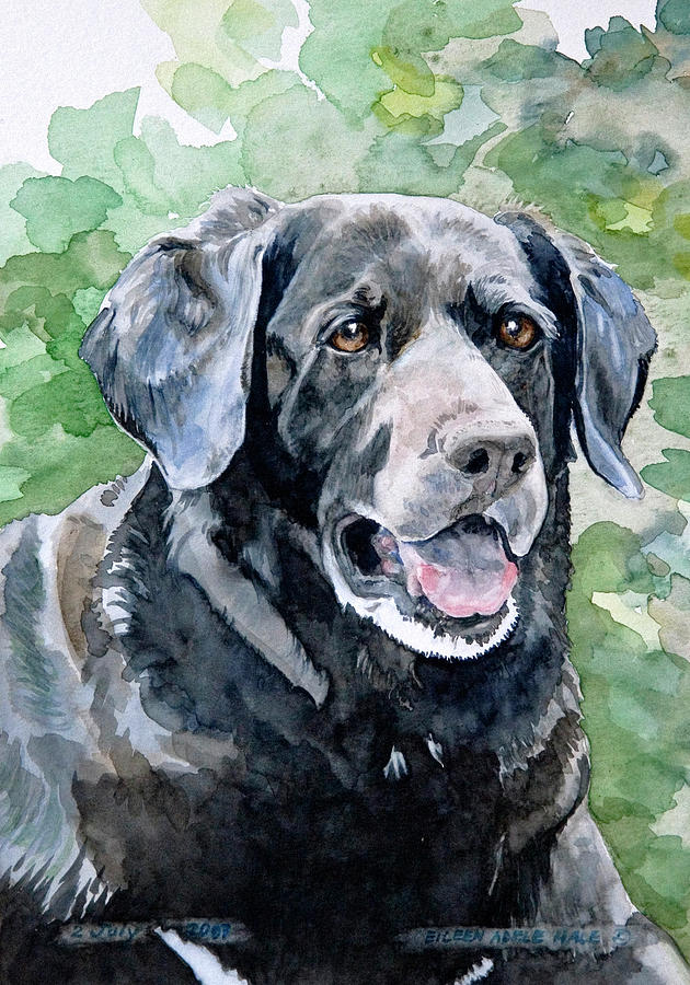Portrait Painting - Starr by Eileen Hale
