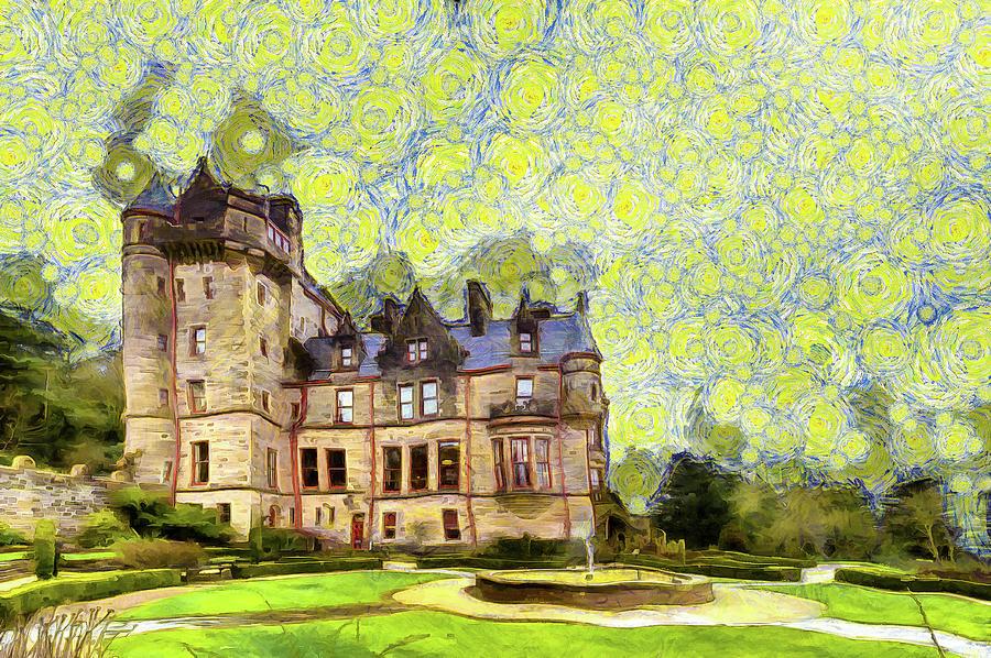 Starry Belfast Castle Photograph