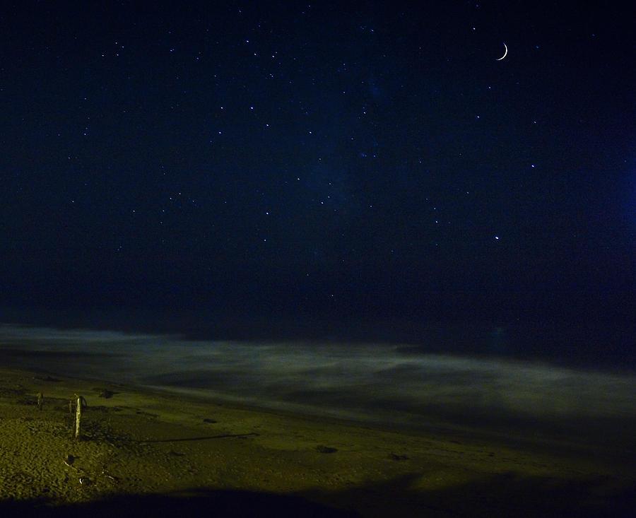 Nature Photograph - Starry Night by John K Sampson