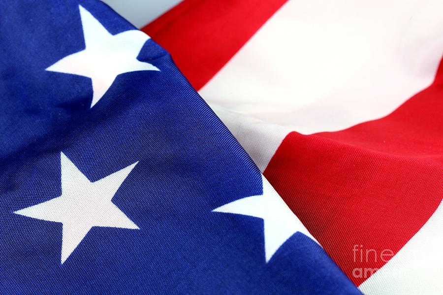 Patriotism Photograph - Stars And Stripes by Douglas Sacha