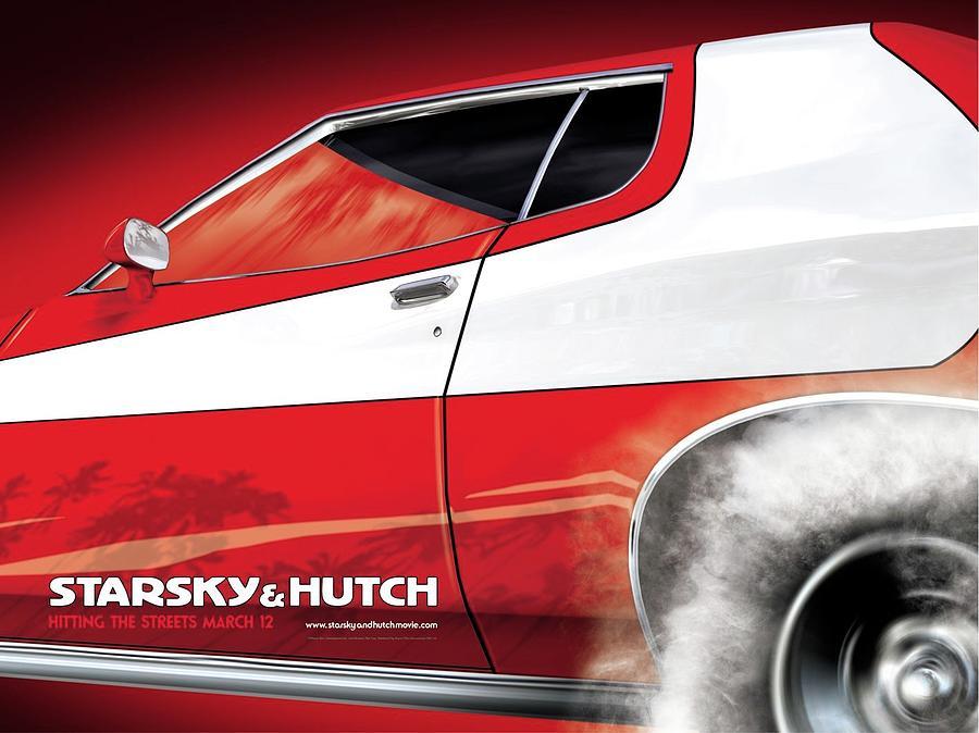 Starsky And Hutch Digital Art - Starsky And Hutch by Dorothy Binder