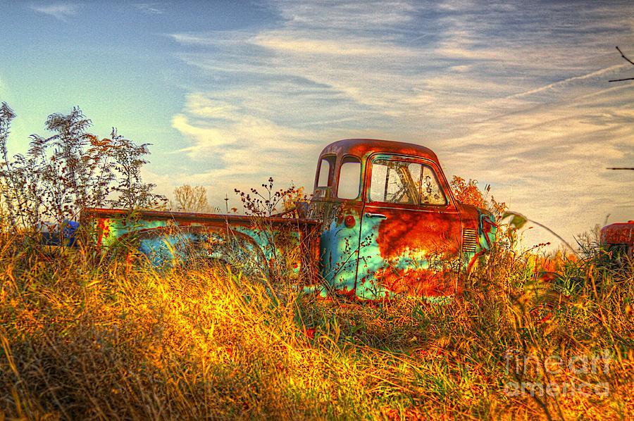 Truck Photograph - Starving Artist by Robert Pearson