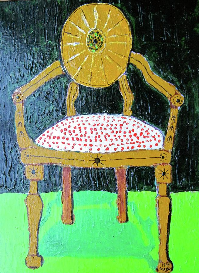 Chair Painting - Stasis by Clarence Major