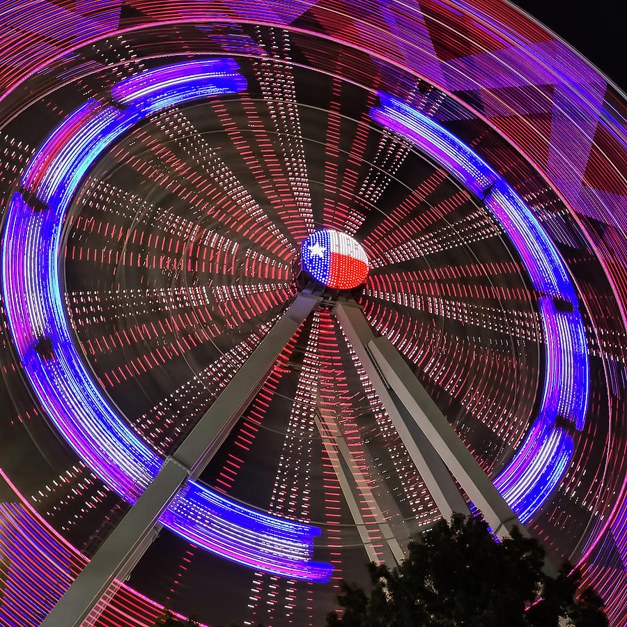 State Fair of Texas Ferris Wheel by Robert Bellomy