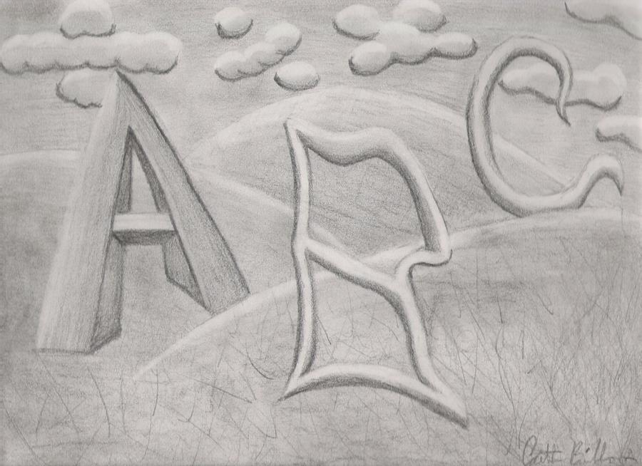 Education Drawing - State Of American Education by Caitlin Binkhorst