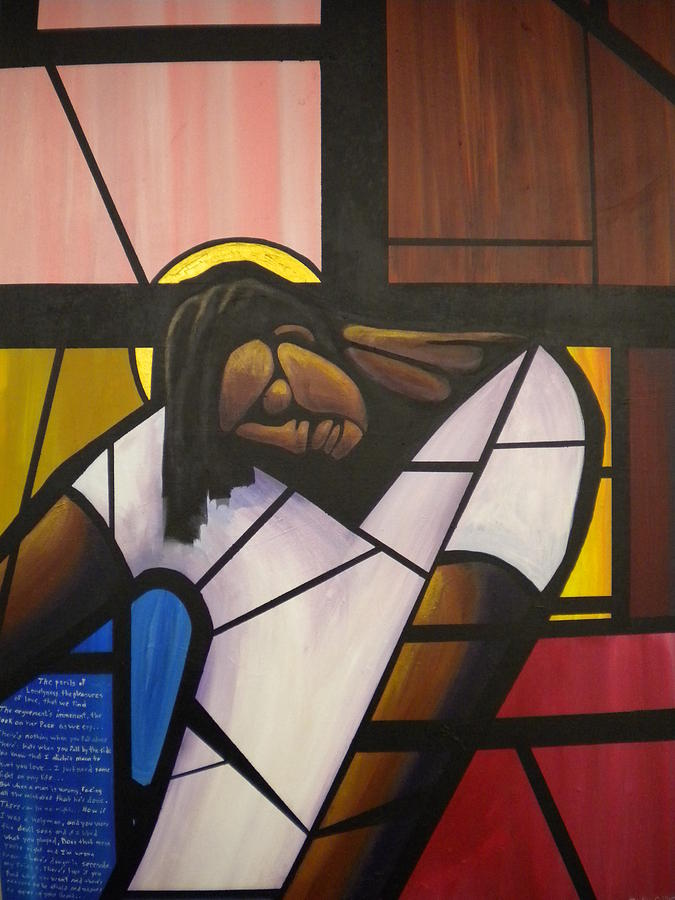 African American Painting Painting - State Of Grace by Devlin Culliver
