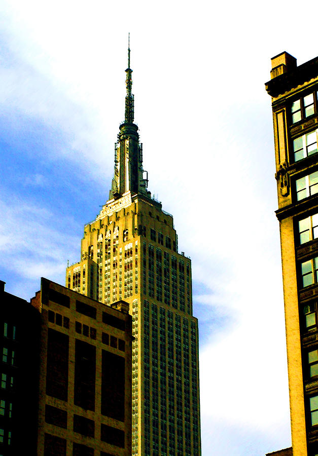 New York Photograph - State Of The Empire State by Leonard Rosenfield