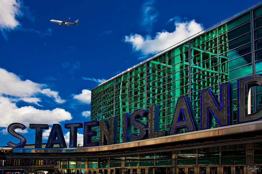 Staten Island Photograph - Staten Island Ferry Terminal by Chris Lord