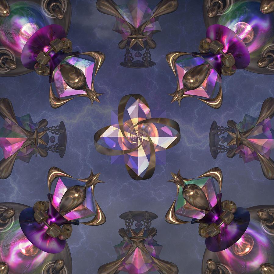 Static Electricity Digital Art