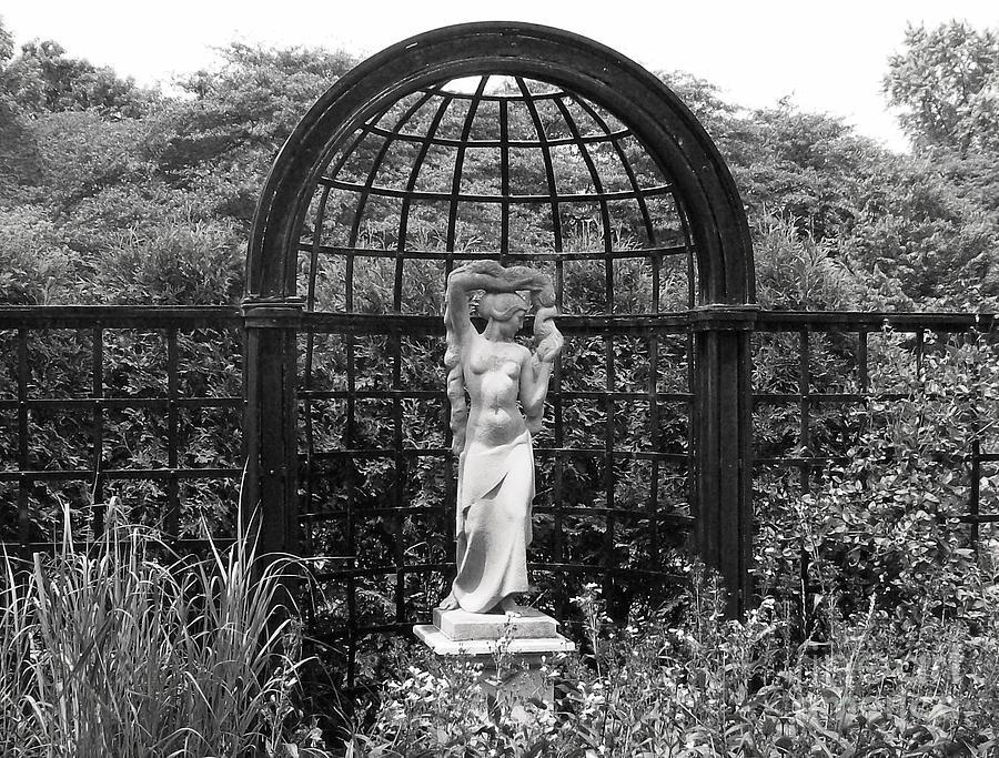 Statue Landscape Photograph by Laurie Eve Loftin