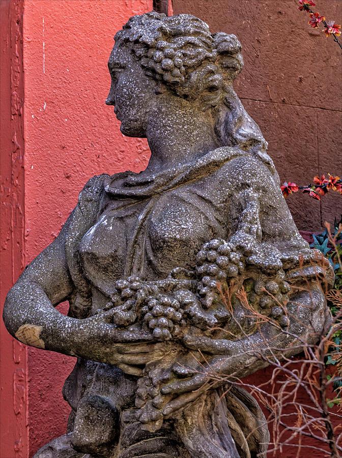 Statue Photograph - Statue Lower Manhattan by Robert Ullmann