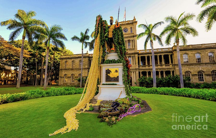 Statue of, King Kamehameha the Great by D Davila