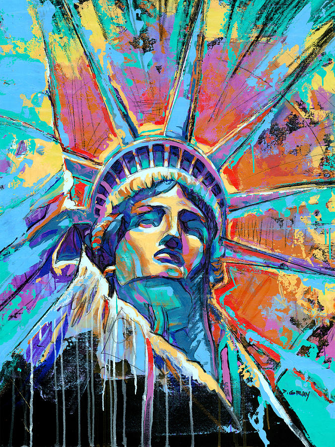 Artist Who Paints Statue Of Liberty