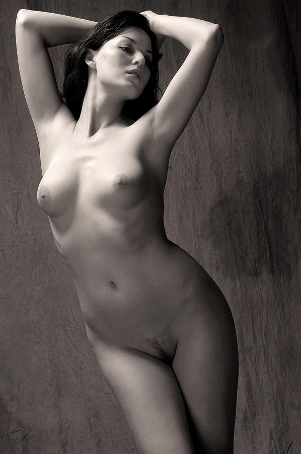 Nude Photograph - Statuesque #3 by Curt Johnson