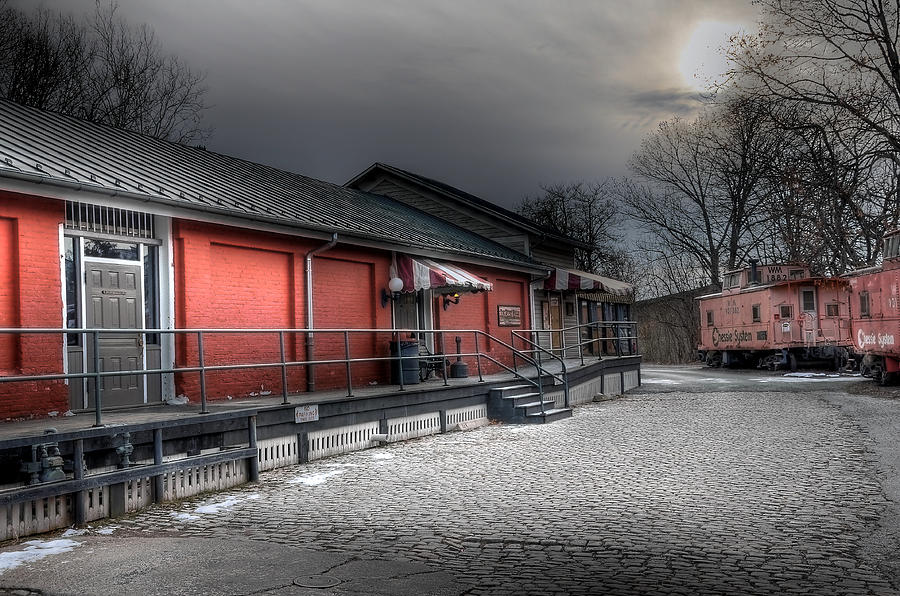 Train Depot Photograph - Staunton Va Train Depot by Todd Hostetter