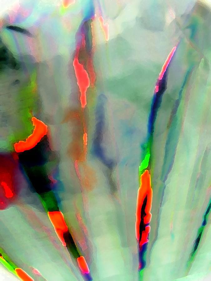 Abstract Digital Art - Stay Focused II by Florene Welebny