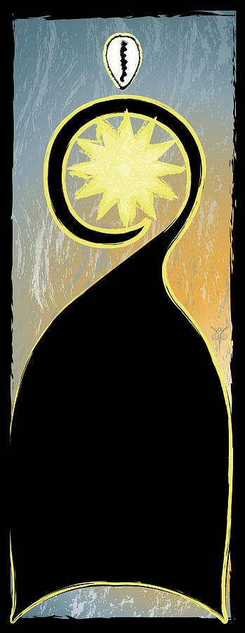 Cowrie Shell Digital Art - Stay by Jennifer Griffin