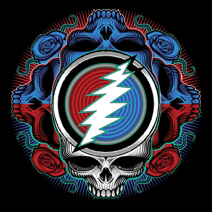 Steal Your Face Digital Art - Steal Your Face - Ilustration by The Bear