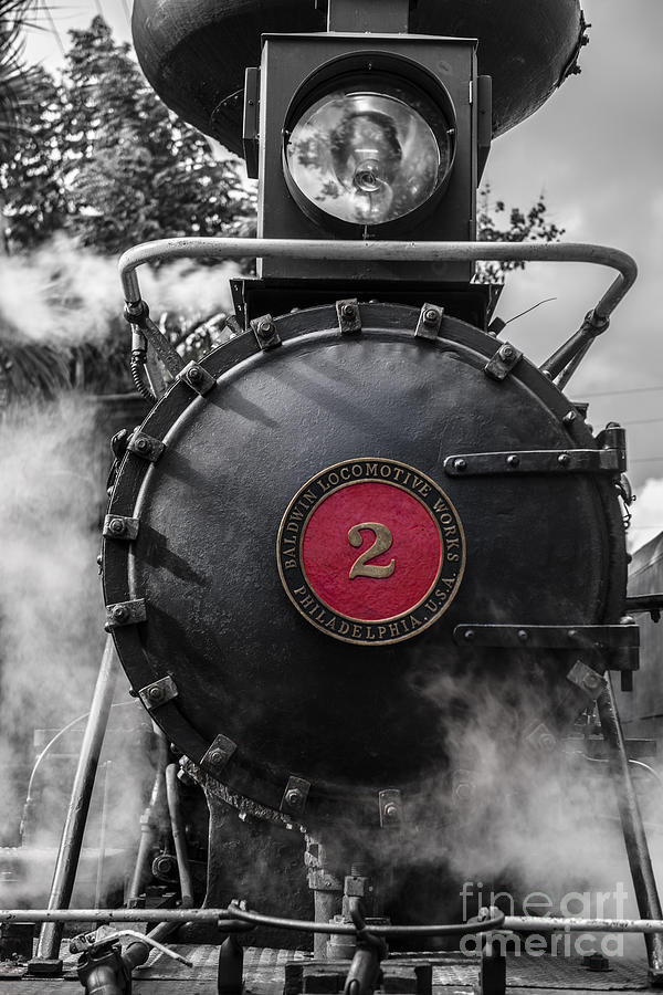 Steam Engine Usa Photograph