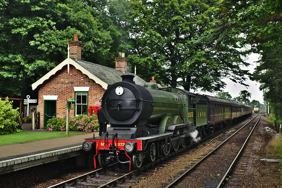 Steam locomotive in England by Paul Cowan