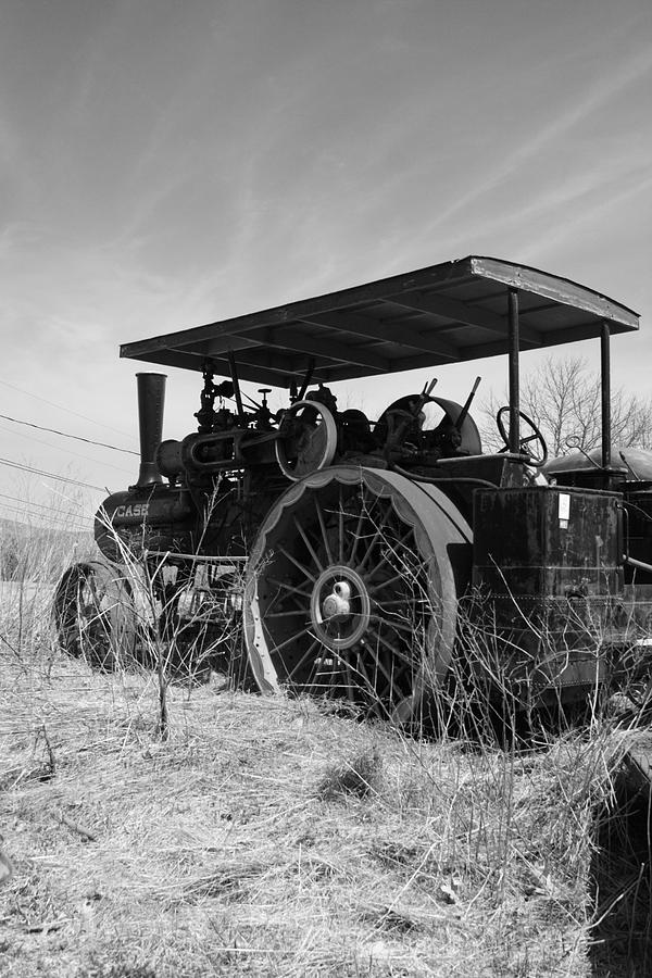 Landscape Photograph - Steam Tractor by Doug Mills