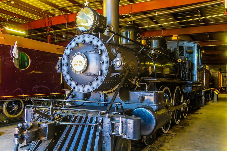 Steam Train Photograph - Steam Train 25 by Garry Gay