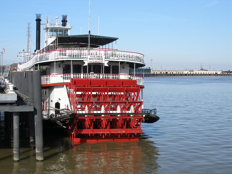New Orleans Photograph - Steamboat Natchez by Jack Herrington