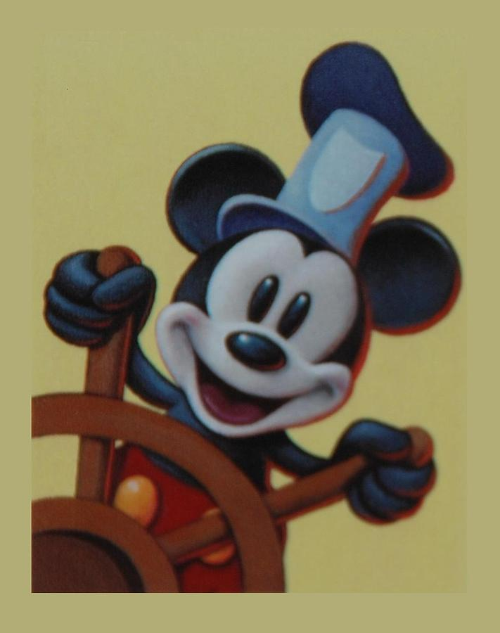 Disney Photograph - Steamboat Willy by Rob Hans