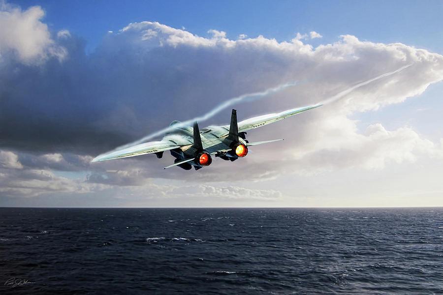 Aviation Digital Art - Steamed by Peter Chilelli