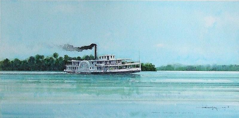 Steamer Rockledge by Ronald Shelley