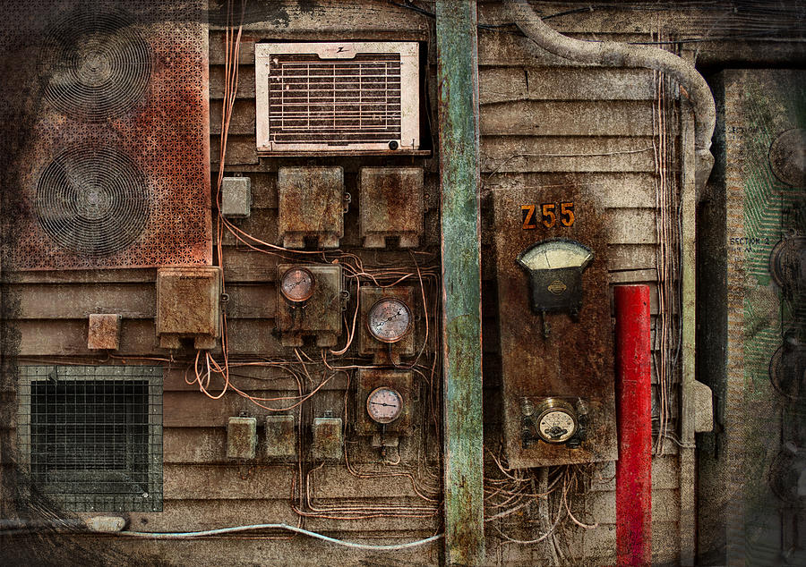 Hdr Photograph - Steampunk - The Future  by Mike Savad