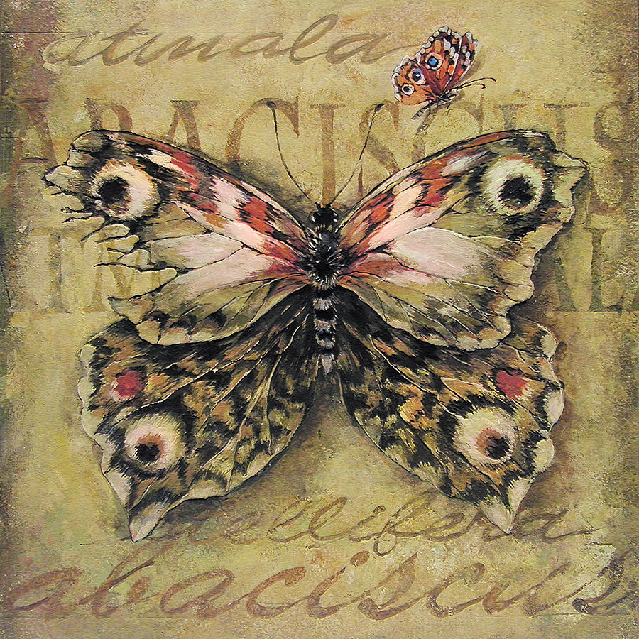 Steampunk Butterfly 1 Painting By Irina Pankevich