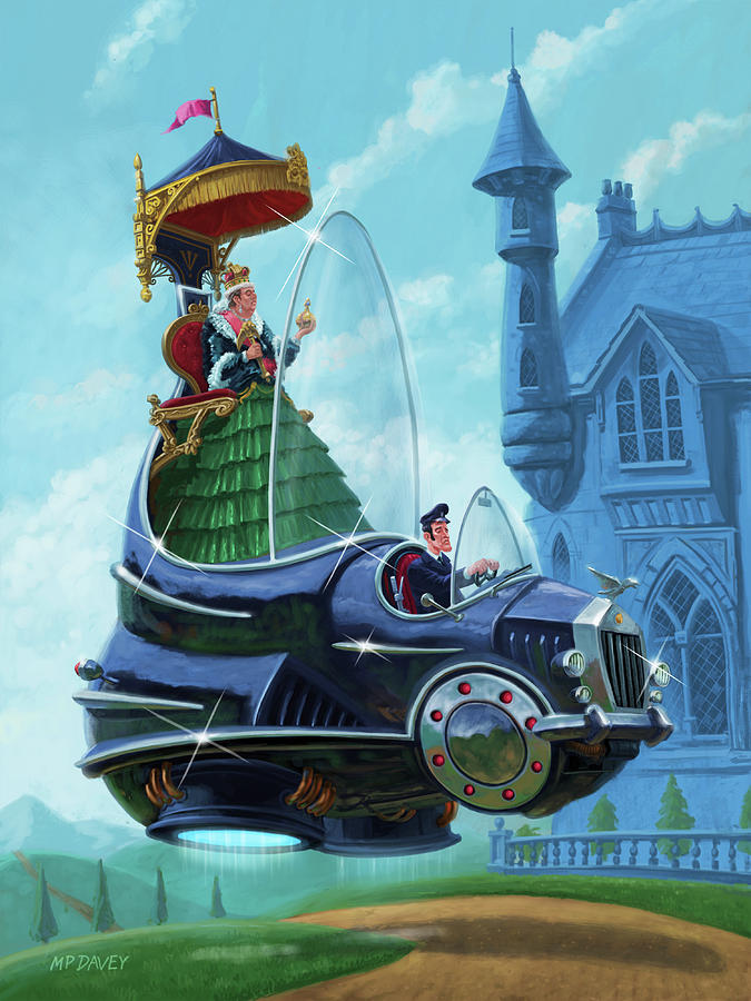 Steampunk Hover Rolls with Queen   by Martin Davey