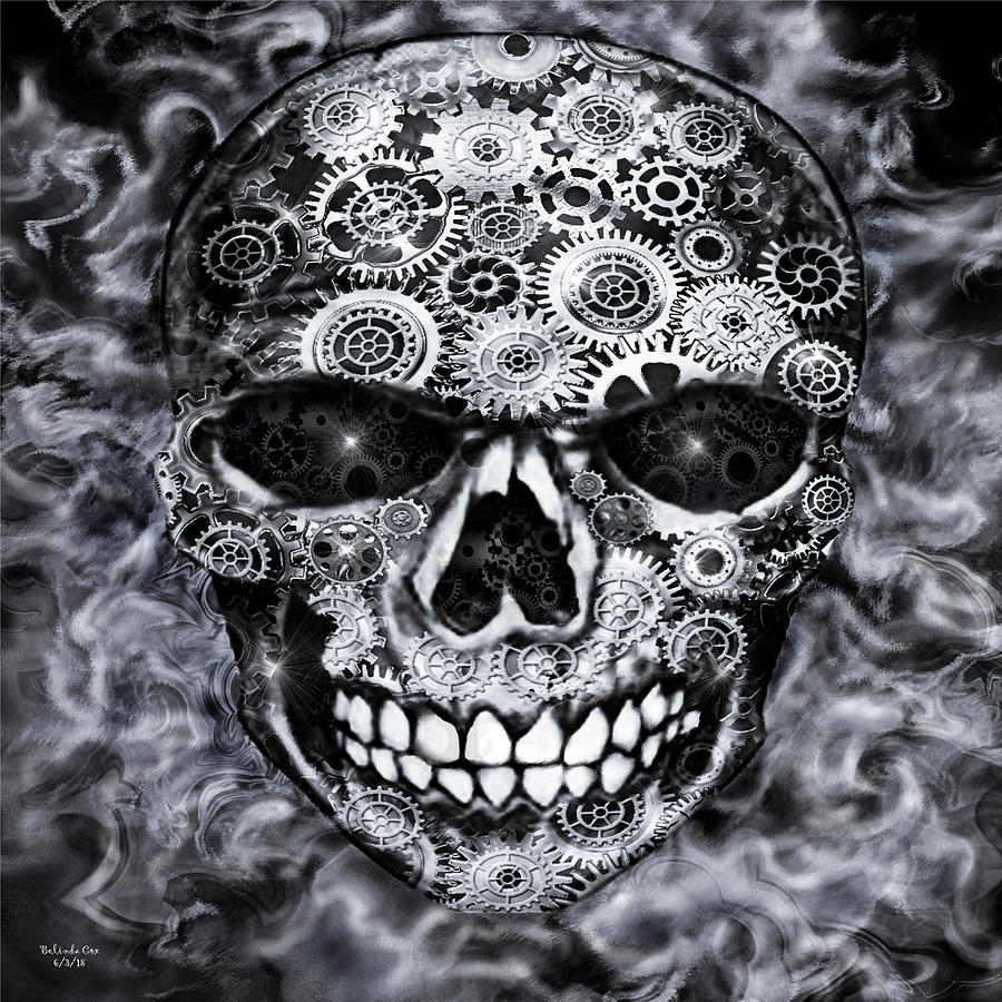 Steampunk Skull by Artful Oasis