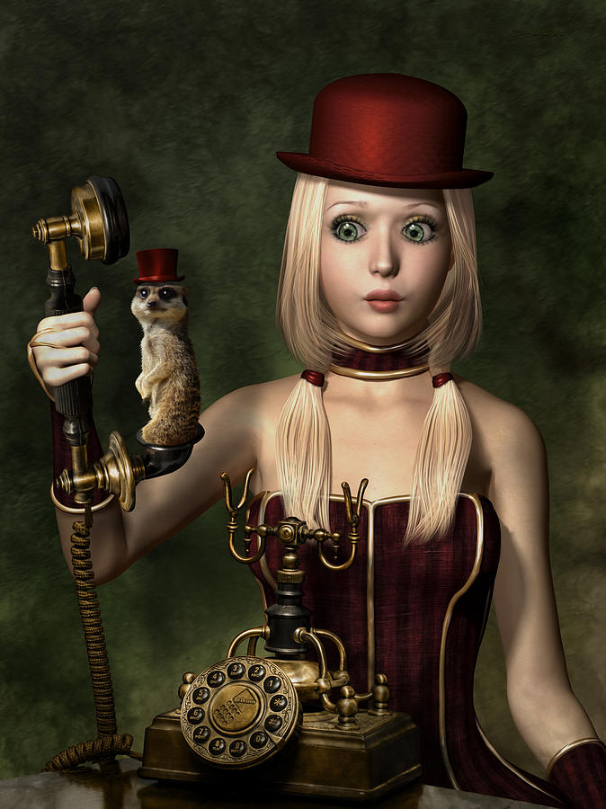 Steampunk Surprise Mixed Media