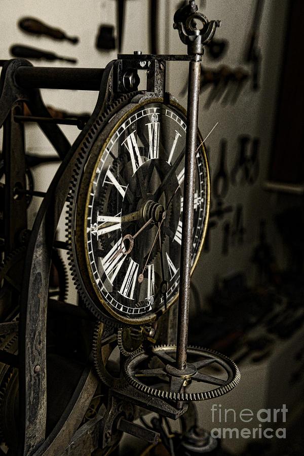 Paul Ward Photograph - Steampunk - Timekeeper by Paul Ward