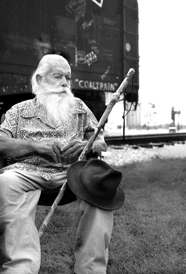 Hobo Photograph - Steamtrain Maury Graham by Todd Fox
