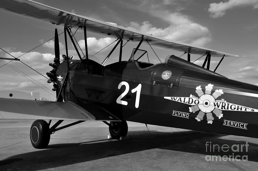 Stearman Photograph - Stearman Biplane by David Lee Thompson