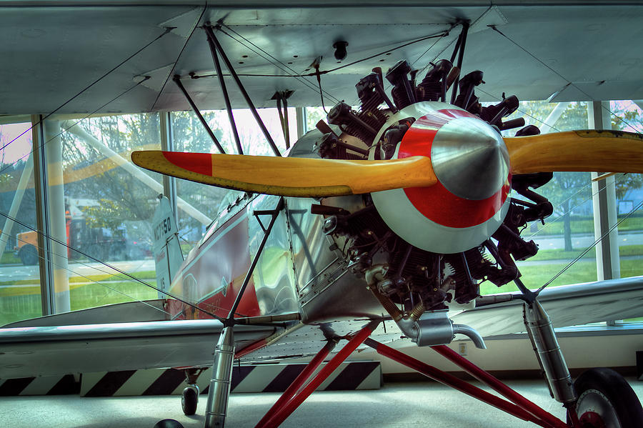 Stearman Photograph - Stearman C-3b by David Patterson