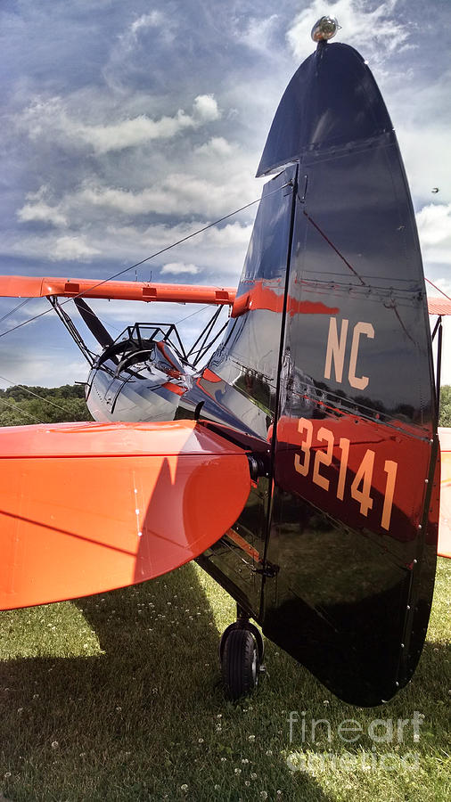 Aircraft Photograph -  Stearman by Jeff Willoughby