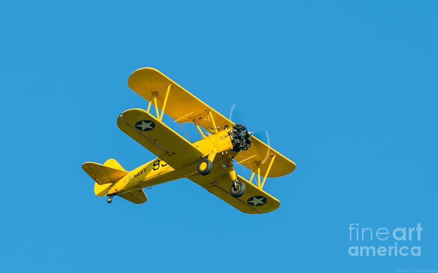 Stearman Model 75 Wwii Biplane by Jeff at JSJ Photography