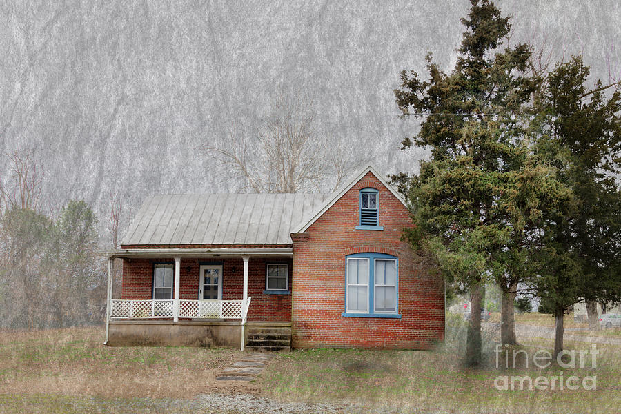 Travel Photograph - Steck House  by Larry Braun