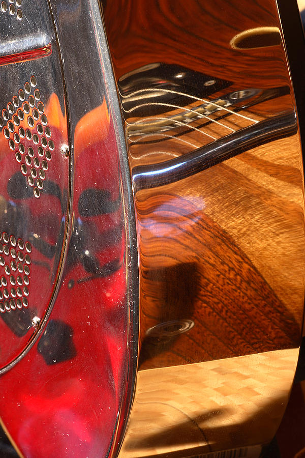Guitar Photograph - Steel And Wood 2 by Art Ferrier