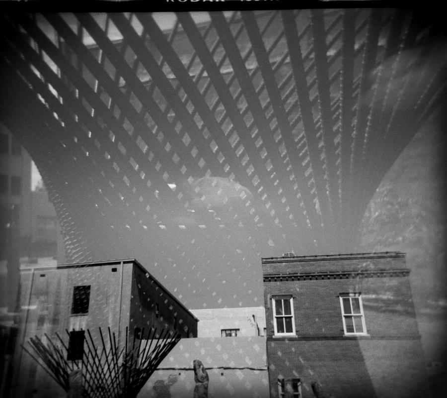 Holga Photograph - Steel Standing by Paul Anderson