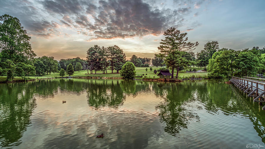 Steele Creek Park At Sunset Bristol Tn Photograph By Dion Wiles